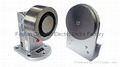 Electromagnetic door holder for glass door MC300-150U