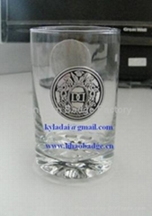 adhesive aluminum label metal label