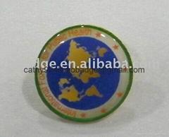 Custom Pin, epoxy coat badge, conference pin badge, metal pin