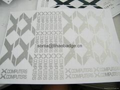 金屬貼紙,貼紙,膠電鑄金屬銘牌,香水貼紙,網卡