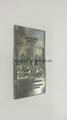 custom UAE perfume metal label