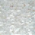 白色珍珠貝母貝殼馬賽克長方形工字拼酒櫃貼 1