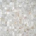 六角形增白淡水白貝殼馬賽克衛生