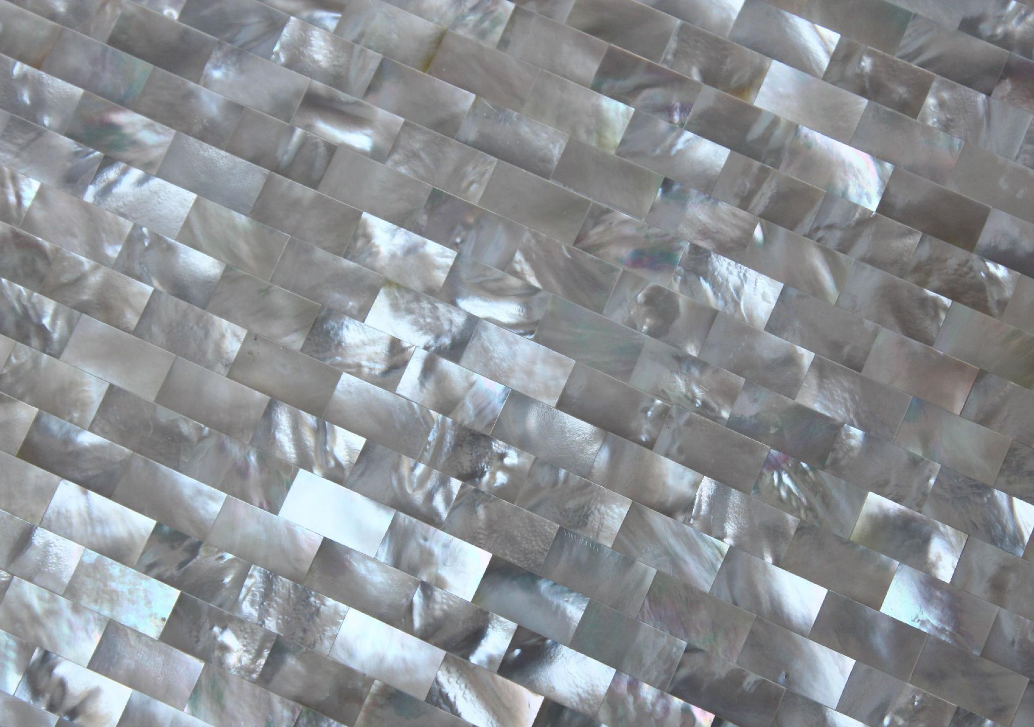 白蝶貝貝殼密拼板裝飾酒櫃吧台 2