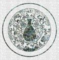 高端定制天然贝壳雕刻拼图拼花马