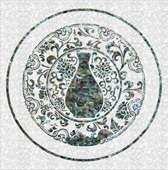 定制天然贝壳雕刻拼图拼花马赛克电视背景墙