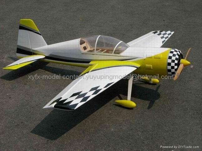 飞机模型 YAK54-50cc 1
