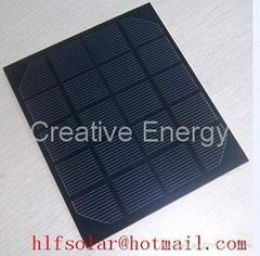 2W/5V 太陽能PET層壓電池板