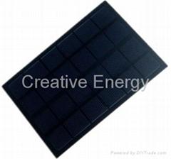 3W/6V防刮花防靜電太陽能PET層壓板