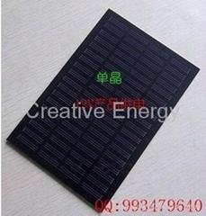 2W/18V PET Laminated  Mini Solar Panel /Mini Solar Module