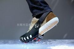 Winter man snow walking shoes for slip