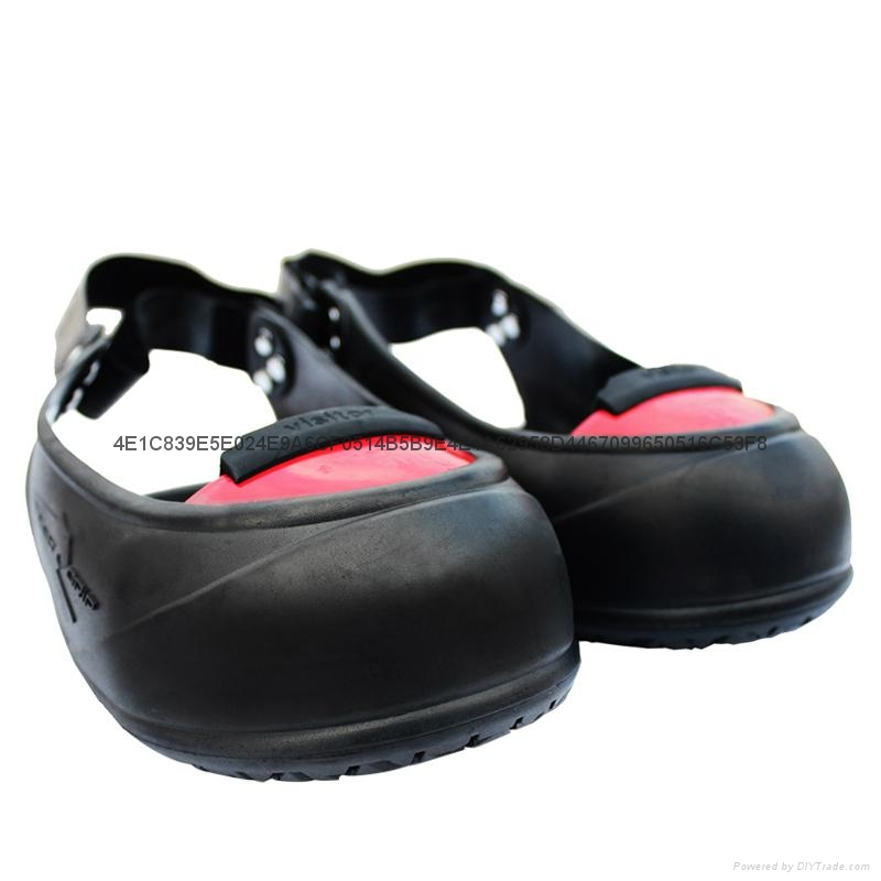 Labour working footwear nonskid shoes women anti smashing safety overshoes 2