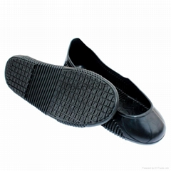 Breathable lightweight women kitchen work shoe cover rubber non skid chef shoes
