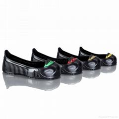 泰克防滑鞋套带钢头防砸橡胶防滑防护鞋套