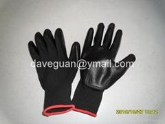 Work gloves nitrile coa