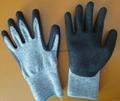 Dyneema cut-resistance level-5 work gloves 1