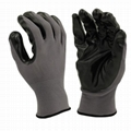 Latex Textured Palm Coated Gloves