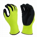 Latex Textured Palm Coated Gloves 2
