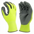 Latex Textured Palm Coated Gloves 3