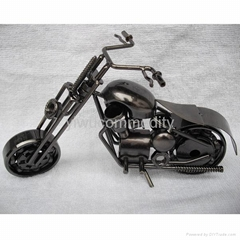 Plating Iron Toy Motorcycle Modle,Office Ornament