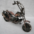 Plating Iron Toy Motorcycle Office