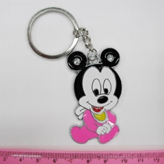 Mickey Mouse Zinc alloy keychain,key ring