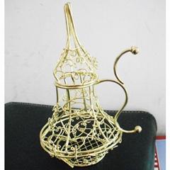 Iron wire Gourd Jewelry case