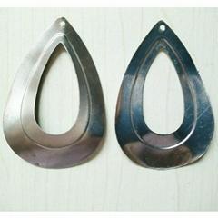 iron sheet earring pendants