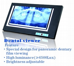 dental x ray film viewer/ dental equipment