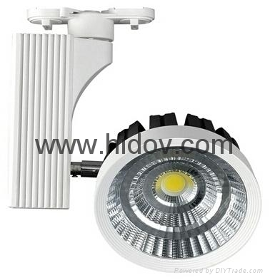 30W high quality CREE COB LED Track Light 1