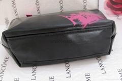 Lancome  leather  beauty bag