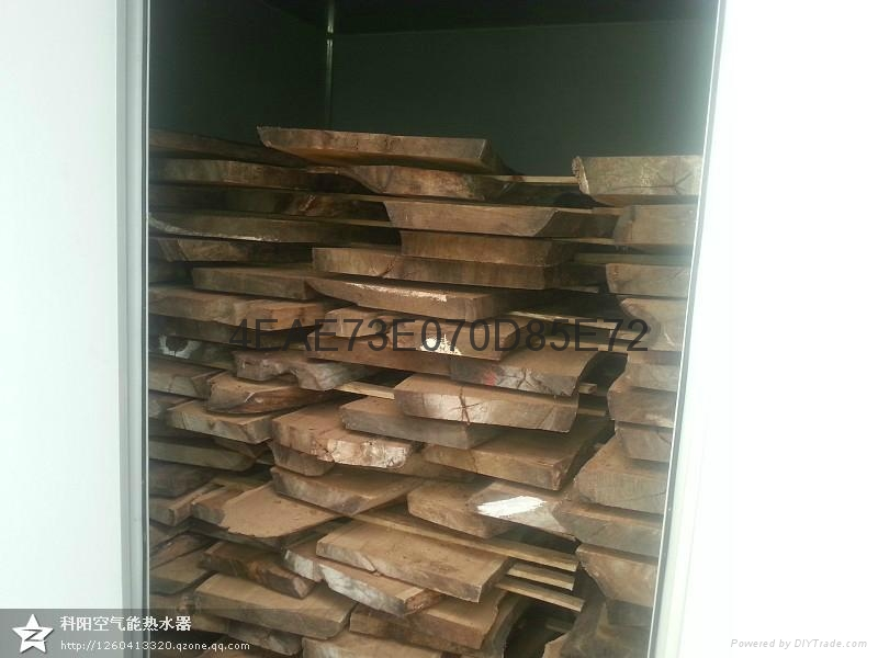 智能熱泵烘乾機木材脫水乾燥系統設備 4