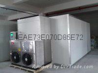 空氣能熱泵香菇菌類脫水乾燥烘乾設備 1