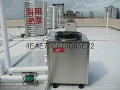 賓館空氣能熱水工程系統設備
