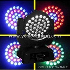 37*9W TRI in 1 LED Moving Head Wash 350W YK-114