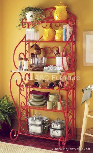 现代欧式美式家庭酒架置物架