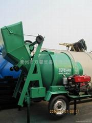 china diesel SXMW concrete mixer JZC350 Construction machine for sale