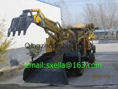 wheel SXMW 60 mucking loader Hydraulic underground tunnel loader
