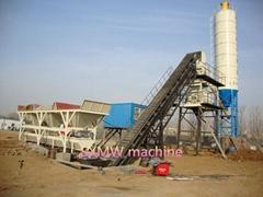 HZS SXMW cement batching plant or concrete mixing station or Cement Mixing Plant
