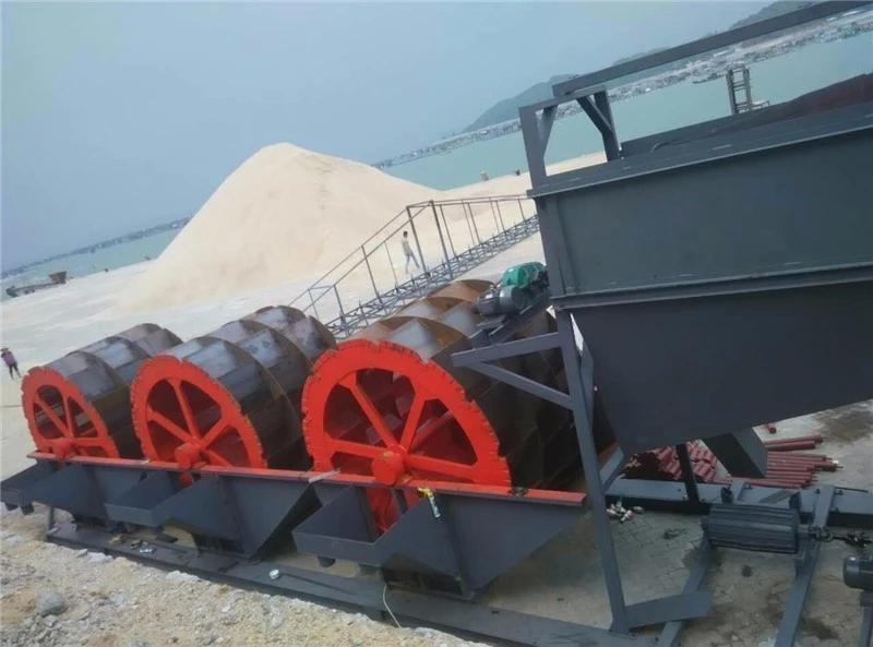 sand washing machine
