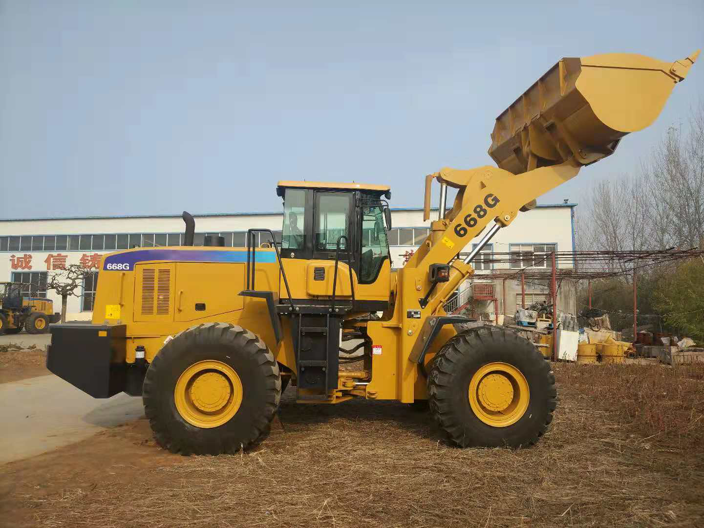 SXMW l wheel loaders l front end loader for sale 4