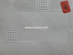 Fireproof PVC gypsum board