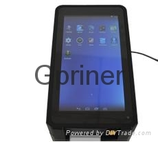 WiFi&Bluetooth&3G(GPRS) Mini Android POS Intelligent pad thermal printer