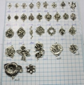 WHOLESALE! Assorted Antiqued silver mixed stytle connector Charm pendant