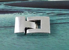 Wholesale!Tibetan silver Hook Clasp for 14x3mm Leather cord #F9804