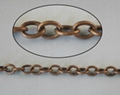 Wholesale!Antiqued copper oval twisted