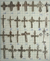 WHOLESALE!Assorted Mixed style cross charm pendant