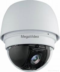 美佳威迪欧30倍光学变倍红外网络高清高速球摄像机