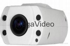 安霸S3芯片H.265壓縮方式一體化光學變倍網絡攝像機