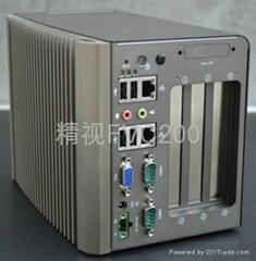 多PCI扩展槽无风扇工控机FVC230上市